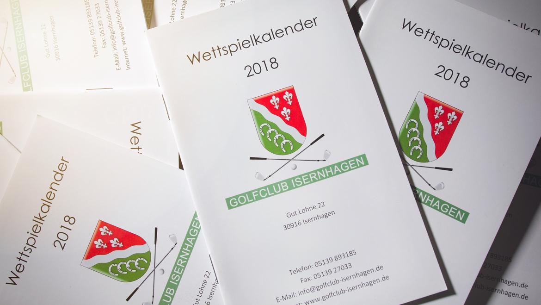 Wettspielkalender 2018