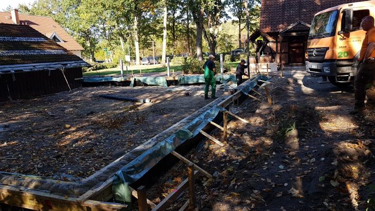 Der Caddyhaus-Anbau geht weiter… endlich