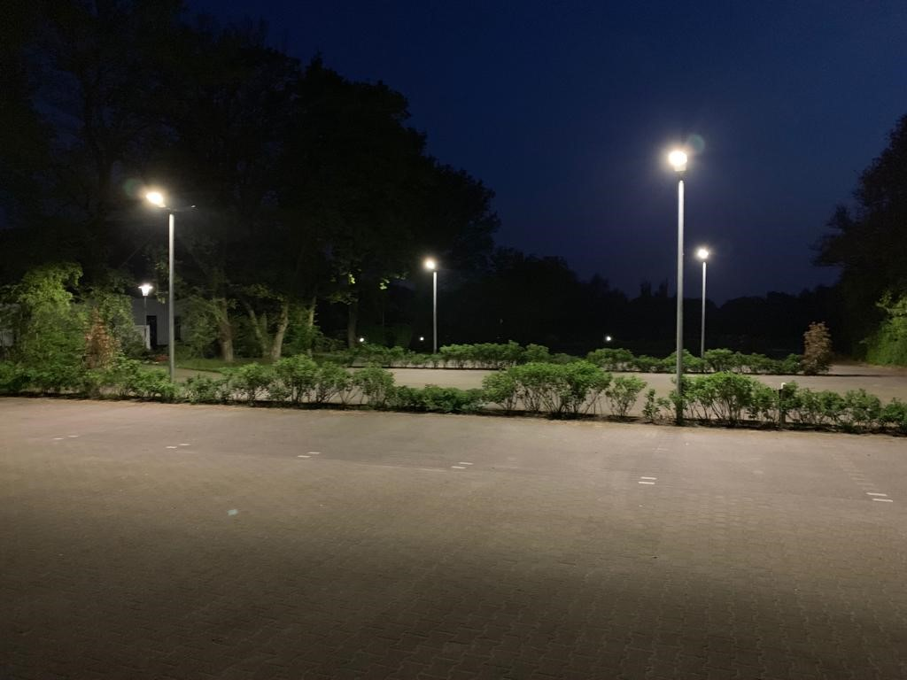Neue Parkplatzbeleuchtung