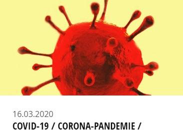 DGV und GVNB informieren über das Coronavirus