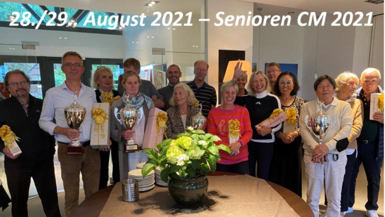 Video Super-Senioren/Seniorinnen und Senioren/Seniorinnen Clubmeisterschaften 2021